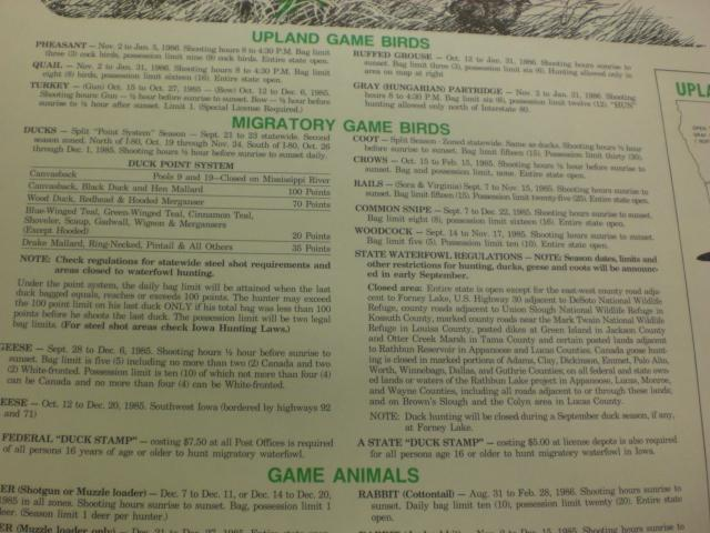 2014 15 iowa hunting and trapping regulations share the for Iowa fishing license